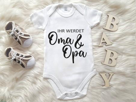 """Baby-Body """"Ihr werdet Oma & Opa"""""""
