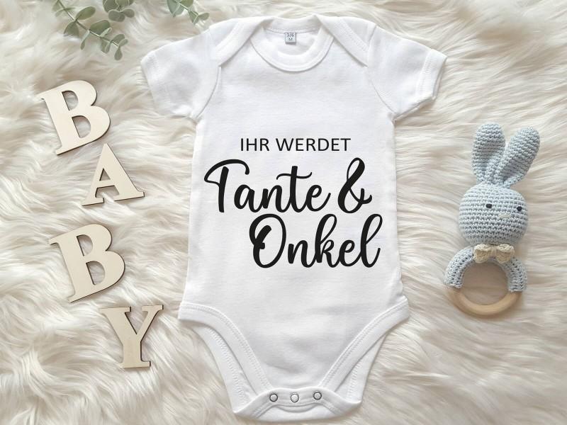 """Baby-Body """"Ihr werdet Tante & Onkel"""" - 1"""