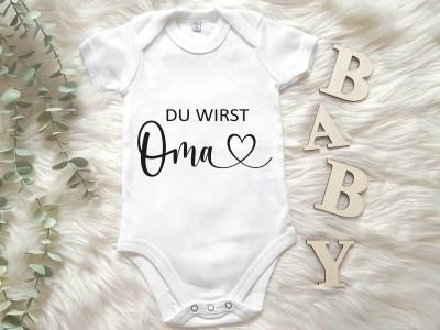 """Baby-Body """"Du wirst Oma"""" - 1"""