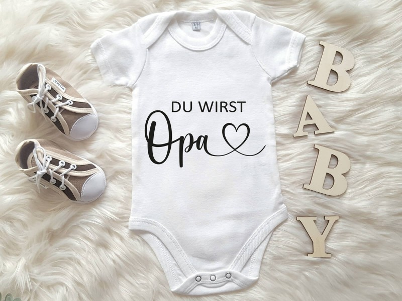 "Baby-Body ""Du wirst Opa"" - 1"
