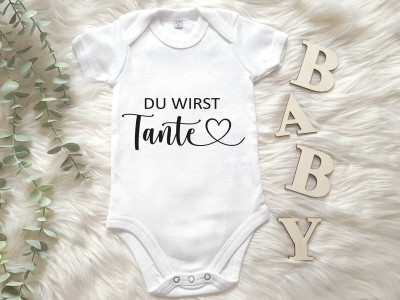"Baby-Body ""Du wirst Tante"" - 1"