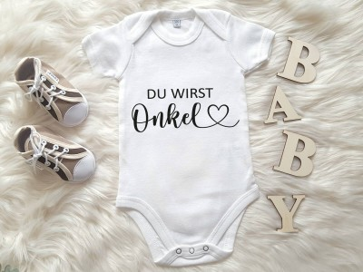 "Baby-Body ""Du wirst Onkel"" - 1"