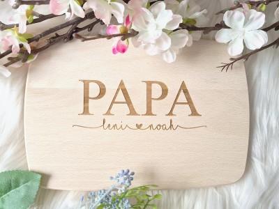 """Frühstücksbrettchen """"Papa"""" - 1"""