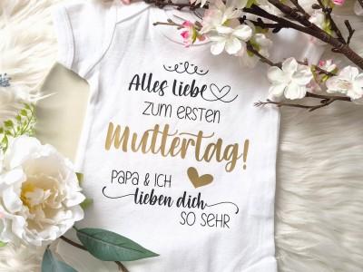"Baby-Body ""Muttertag"" - 1"