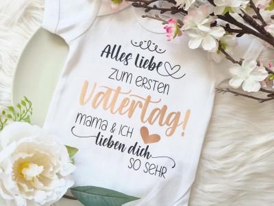 """Baby-Body """"Vatertag"""" - 1"""
