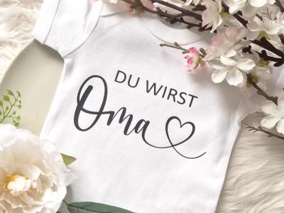 """Baby-Body """"Du wirst Oma"""" - 2"""