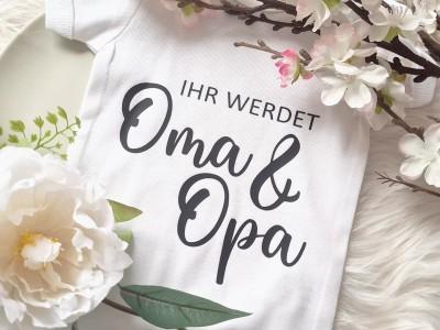 """Baby-Body """"Ihr werdet Oma & Opa"""" - 2"""
