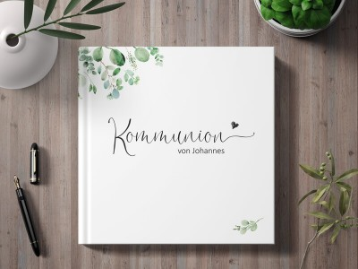 "personalisiertes Gästebuch ""Minimalistic"" - 1"
