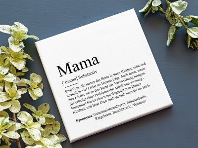 "Leinwandbild ""Mama"" Definition - 2"