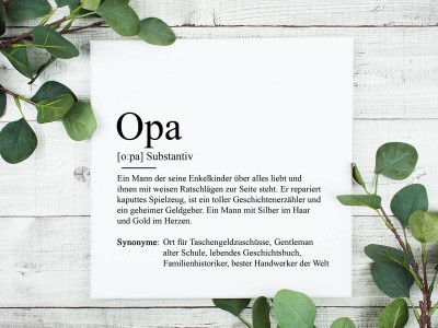 """copy of Poster """"Opa"""" Definition - 2"""