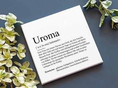 "Leinwandbild ""Uroma"" Definition - 2"