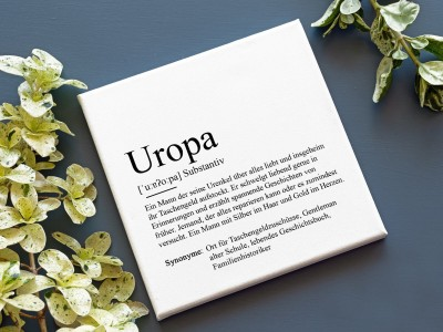 "Leinwandbild ""Uropa"" Definition - 2"