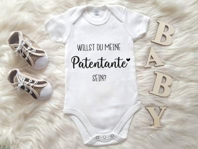 "Baby-Body ""Antrag Patentante"" - 1"