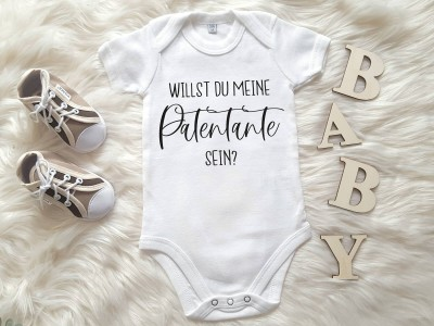 "Baby-Body ""Antrag Patentante"" - 2"