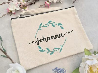 """Canvas Clutch """"Johanna"""" - 1"""
