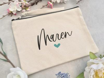 """Canvas Clutch """"Maren"""" - 1"""