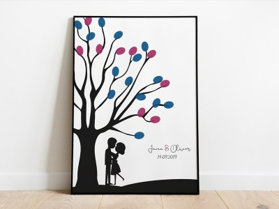 personalisierter Weddingtree