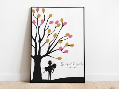 personalisierter Weddingtree - 1