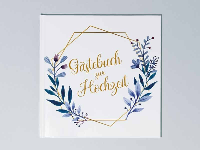 """Gästebuch Hochzeit """"Elegance"""" - 1"""