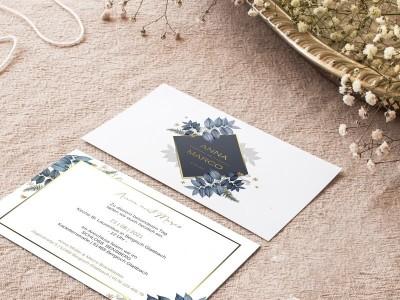"""Einladung Hochzeit """"Hazel"""" - 2"""