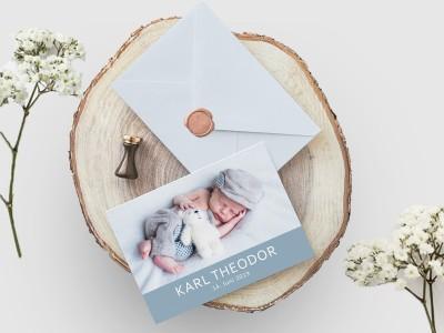 """Geburtskarte """"Twinkle"""" - 1"""