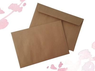Briefumschläge Kraftpapier - 1
