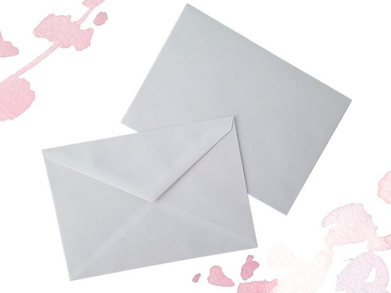 Briefumschläge weiß - 1