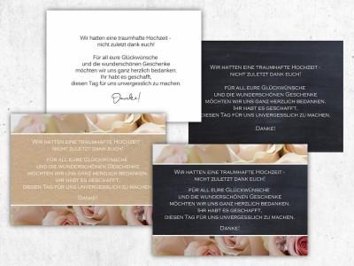 Danksagung Hochzeit - 2