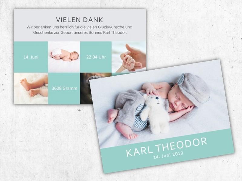 """Geburtskarte """"Twinkle"""" - 4"""