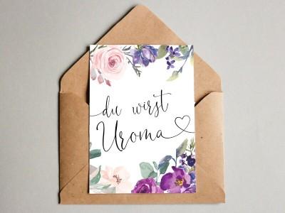 """Karte """"Uroma"""" Blossom"""