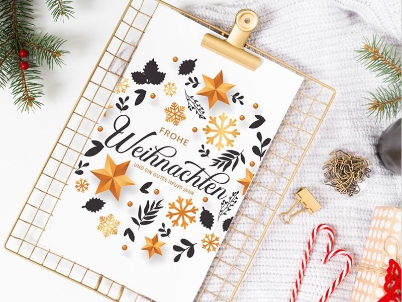 Weihnachtskarte - 1