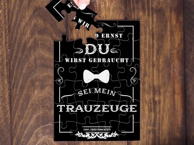 "Puzzle ""Trauzeuge"" - 2"