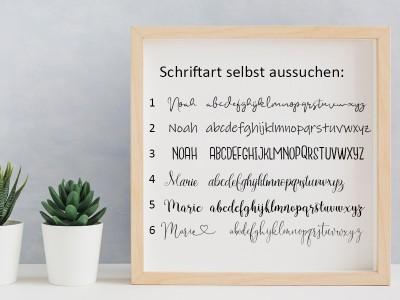 """Geburtsposter """"Löwe"""" - 2"""