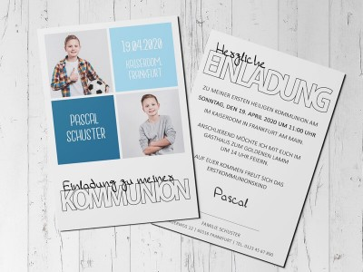 Einladung Kommunion - 4