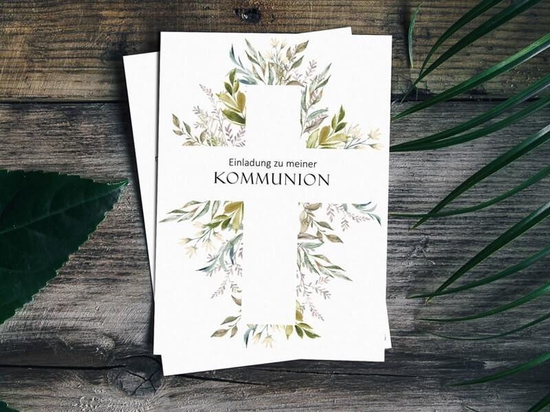 Einladung Kommunion - 1