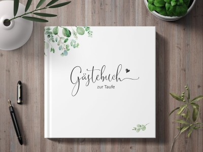 "Gästebuch Taufe ""Minimalistic"" - 1"