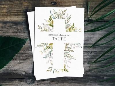 Einladung Taufe - 1