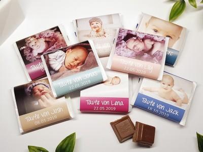 Schokoladenbanderole mit Foto - 1