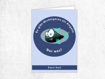 """Fischereischein Hülle """"Anglerpriorität"""""""